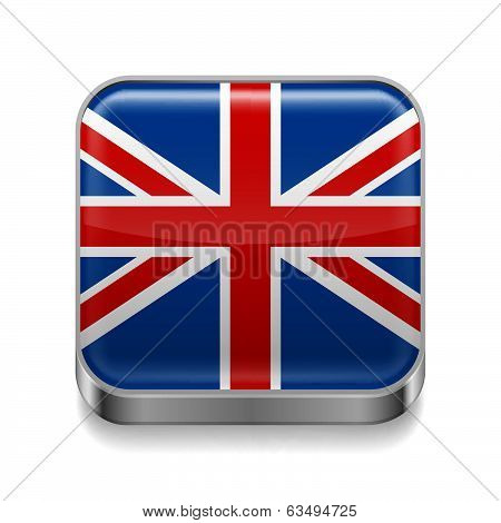 Metal  icon of United Kingdom