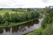 picture of hereford  - English countryside along River wye - JPG