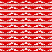 Background of hearts pattern