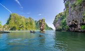 picture of james bond island  - Phang Nga Bay James Bond Island in Thailand - JPG