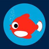 Постер, плакат: Рыба