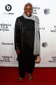 NEW YORK-APR 16: Bethann Hardison attends the world premiere of
