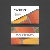Colorful Business or Gift Card Design