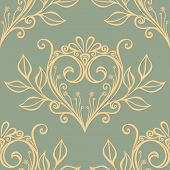 image of amour  - Vector Seamless Pattern with Hearts - JPG