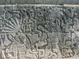 foto of beheaded  - relief  - JPG