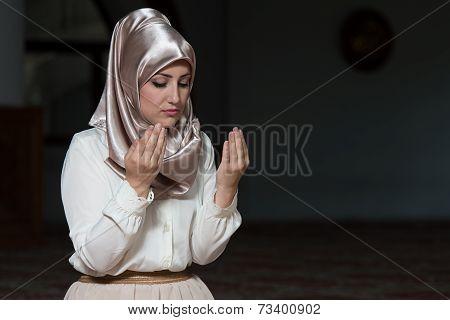 Prayer At Mosque