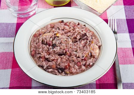 Risotto With Chicory