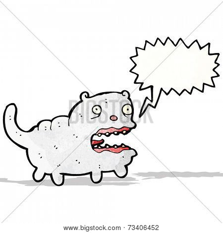 screeching cat cartoon