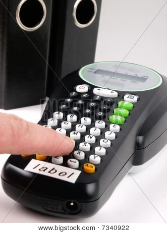 Electronic Label Writer