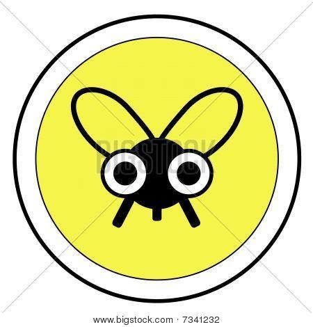 Icono de la mosca