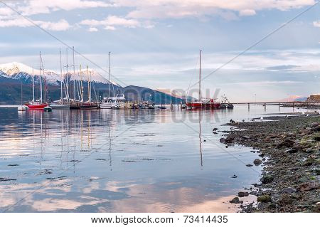 Ushuaia, Beagle Channel. Tierra Del Fuego, Argentina