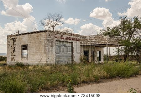 Former Service Station On Route 66