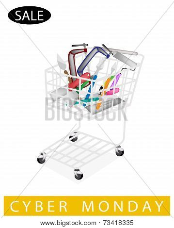 Builder Tools in Cyber Monday Shopping Cart