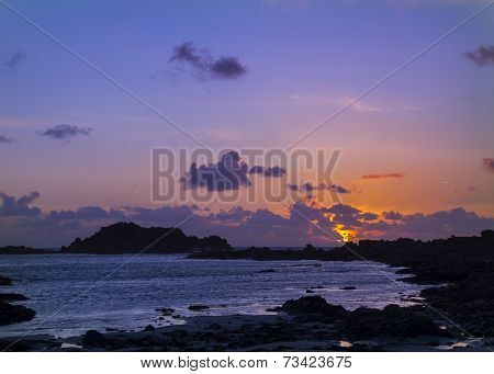 Sunset On Guernsey