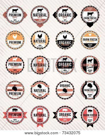 Meat Labels Collection