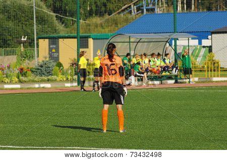 Grichenko Tatiana (16), Goakeeper Of Kubanochka Team