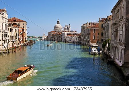 The Grand Canal Of Venice