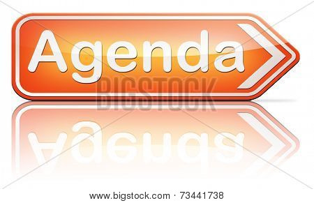 agenda timetable and business schedule organizing and planning time use for meetings and organize organization