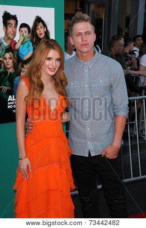 LOS ANGELES - OCT 6:  Bella Thorne, Tristan Klier at the