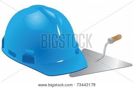 Helmet And Trowel Mason
