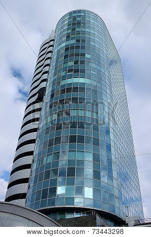 Building of Cobra Business Centre in Novosibirsk city, Russia
