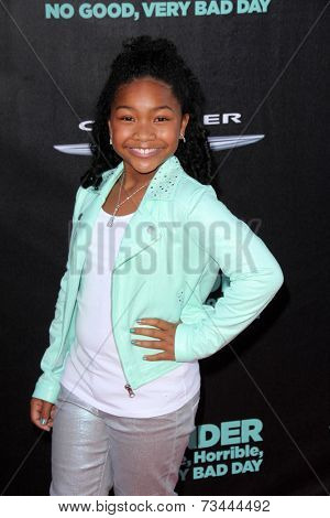 LOS ANGELES - OCT 6:  Laya DeLeon Hayes at the