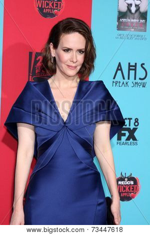 LOS ANGELES - OCT 5:  Sarah Paulson at the