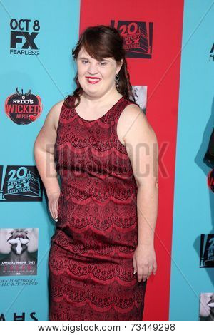 LOS ANGELES - OCT 5:  Jamie Brewer at the