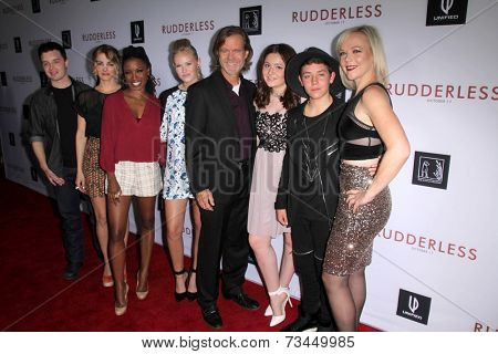 LOS ANGELES - OCT 7:  Shameless Cast at the