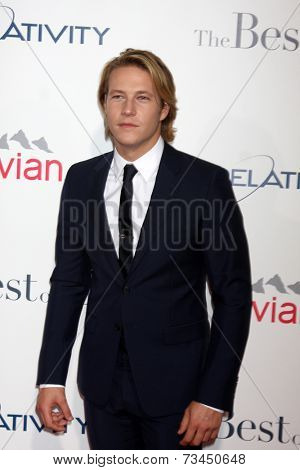 LOS ANGELES - OCT 7:  Luke Bracey at the
