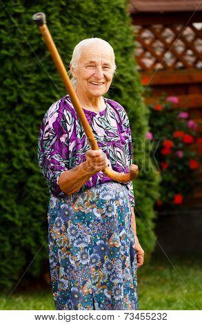 Threatening Granny