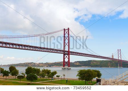 bridge of 25th April, Lisbon