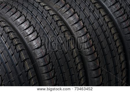 black tire close up photo