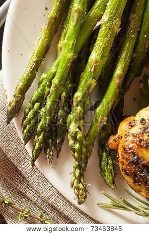 Homemade Healthy Baked Asparagus