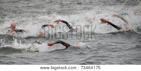 Triathlon, Swimming, Men