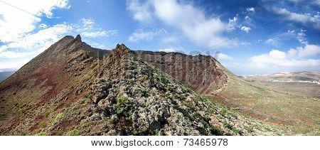 Lanzarote - Volcano Monte Corona