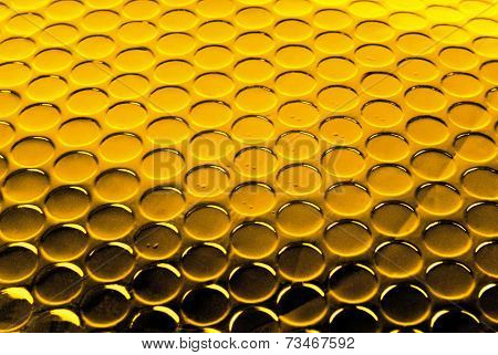 golden circle textured background