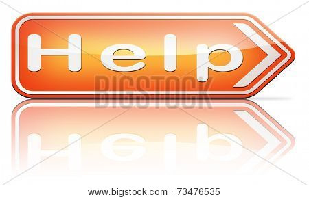 need help or wanted helping hand assistance please or support desk