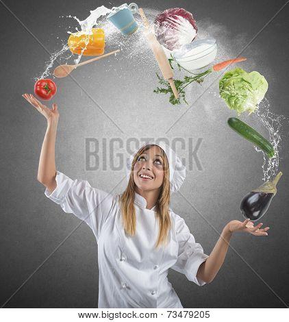 Juggler Chef