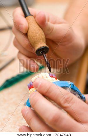 Remodeling Of Teeth Of Wax