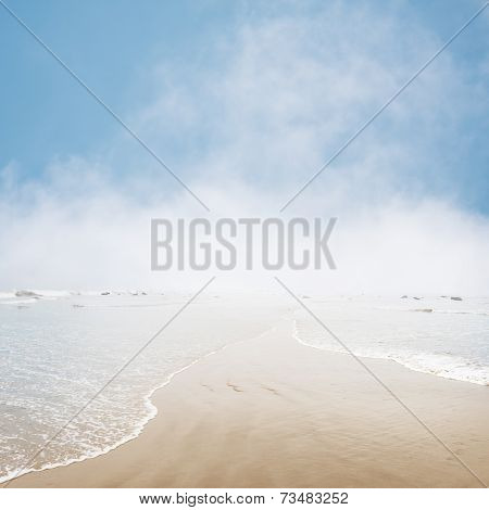 Foggy Seascape