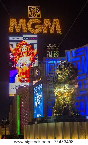 Las Vegas, MGM hotel and casino
