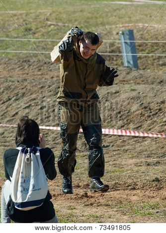 Photographer Shoot A Sportsman