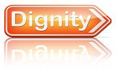 stock photo of self-confident  - dignity self esteem or respect confidence and pride sign  - JPG