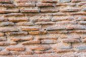 foto of constantinople  - Remains of the famous ancient walls of Constantinople in Istanbul - JPG