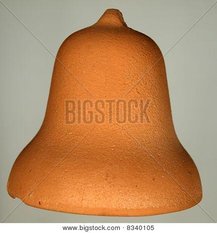 Handmade clay bell