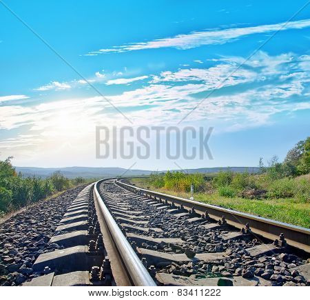 railroad in Crimea