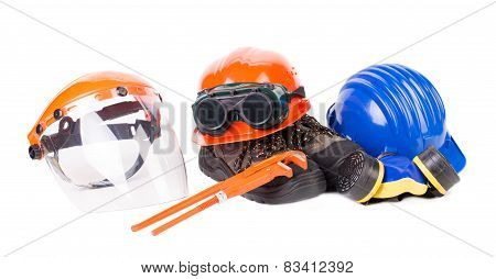 Various safety equipment