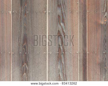 Exotic Brown Fence