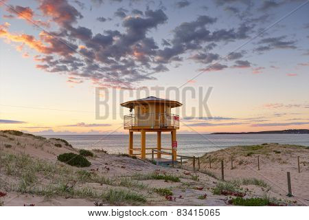 Wanda Beach Lookout Tower